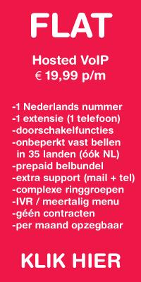 Zakelijk onbeperkt / FlatFee Hosted VoIP voor 19,99 per maand!